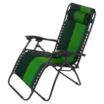 Кресло-шезлонг Zagorod K101 (зеленый)