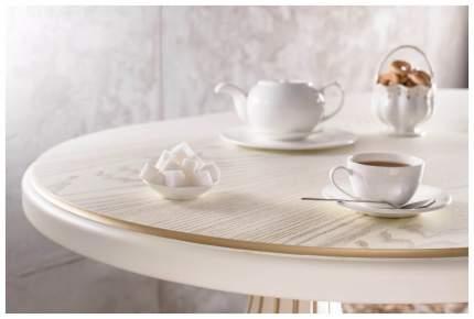 Кухонный стол Мебелик 78х160х90 см, бежевый, золотистый
