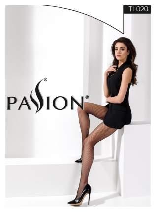 Классические колготки Passion в мелкую сетку черные 1-2 размер