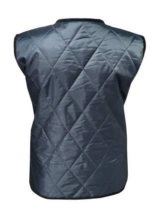 Утепленный жилет женский IQ Komfort 1756002 черный/серый 48 RU