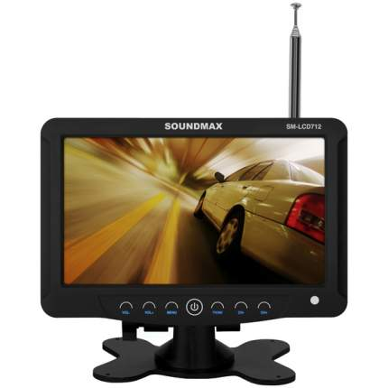 Телевизор автомобильный Soundmax SM-LCD712Black