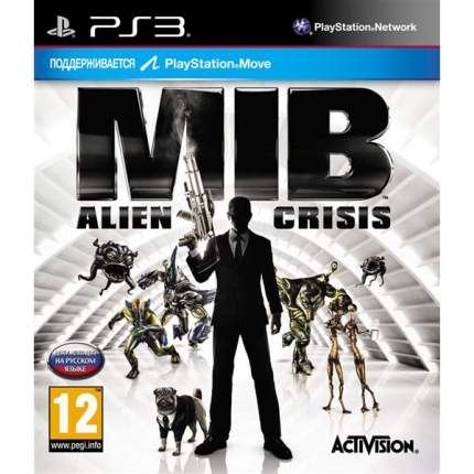 Игра Men In Black:Alien Crisis для PlayStation 3