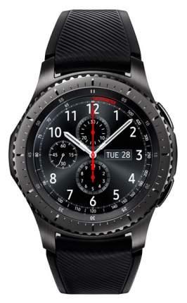 Смарт-часы Samsung Gear S3 Frontier Black/Black (SM-R760NDAASER)