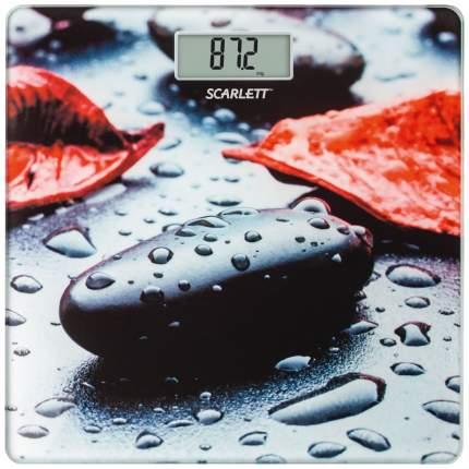 Весы напольные Scarlett SC-BS33E052 Рисунок, черный