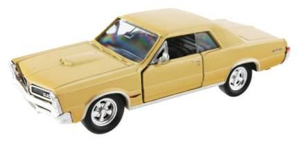 Коллекционная модель Welly Pontiac GTO 1965 42313 1:34