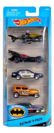 Набор пластиковых машинок Hot Wheels Batman 1806 CDT28