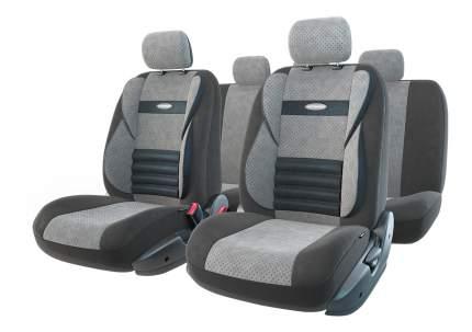 Комплект чехлов на сиденья Autoprofi Comfort Combo CMB-1105 BK/D.GY (M)