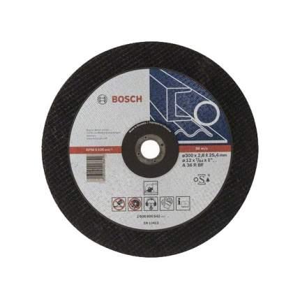 Отрезной диск по металлу для угловых шлифмашин Bosch 300х25.4мм 2608600542