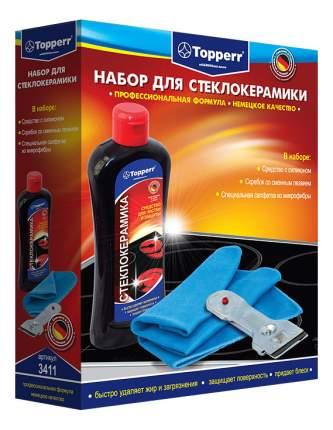 Набор для ухода за стеклокерамическими поверхностями Topperr 3411
