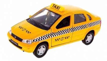 Модель машины Welly 42383TI 1:34-39 LADA Kalina Такси