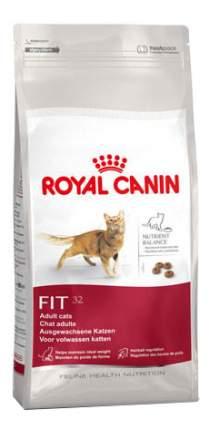 Сухой корм для кошек ROYAL CANIN Fit 32, для поддержания формы, птица, 2кг