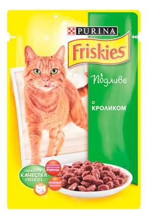 Влажный корм для кошек Friskies, с кроликом в подливе, 100г
