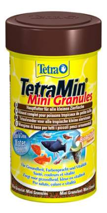 Корм для молодых и мелких рыб Tetra Min Mini Granules, гранулы, 100 мл