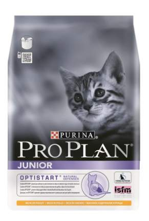 Сухой корм для котят PRO PLAN Junior Optistart от 6 недель, курица, 3кг