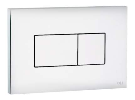 Кнопка смыва OLI Karisma белый (641001)