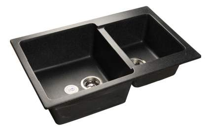 Мойка для кухни мраморная GranFest Practic GF-P780K черный