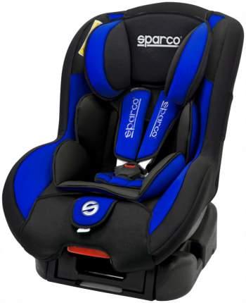 Автокресло sparco F500K группа 1/2/3, Черный, Синий