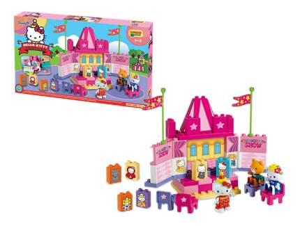 Детский конструктор Unico Plus Hello Kitty Театр 55 деталей