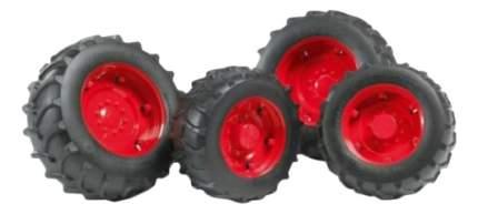 Шины для системы сдвоенных колес Аксессуары A, с красными дисками, 4 шт.