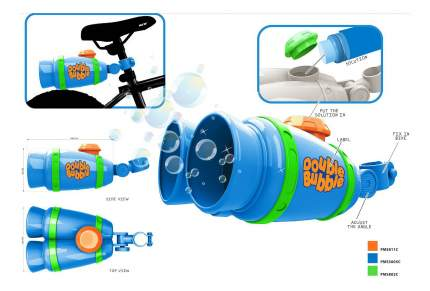 Мыльные пузыри HTI Выхлопная труба