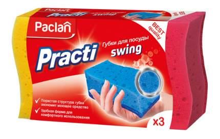 Губка для посуды Paclan Practi Swing 3 шт