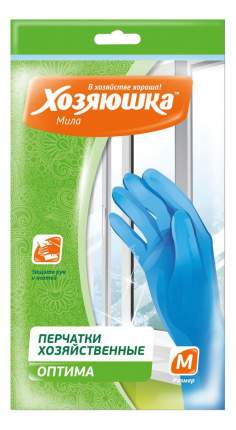Перчатки для уборки Хозяюшка Мила Оптима размер M 3 пары