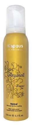 Мусс для волос Kapous Arganoil Strong Mousse 150 мл