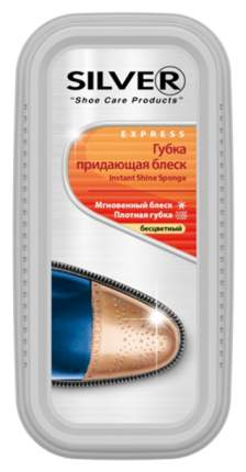 Губка для обуви Silver придающая блеск широкая бесцветная