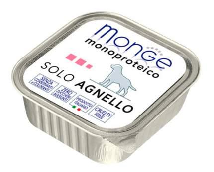 Консервы для собак Monge Monoproteico Solo, ягненок, 150г