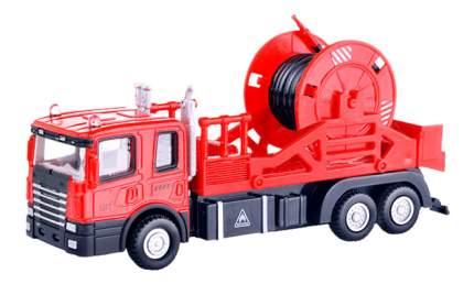 Грузовик Autotime Mechanic truck с катушкой 1:48