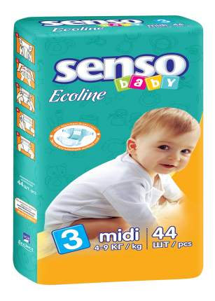 Подгузники Senso Baby Midi (4-9 кг), 44 шт.