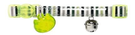 Ошейник для кошек HUNTER Glossy Stripes нейлон, разноцветный, 18-32 см