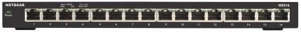 Коммутатор NetGear GS316-100PES Черный
