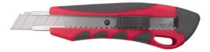 """Нож технический, серия """"Модерн"""" 18 мм усиленный, прорезиненный КУРС 10176"""