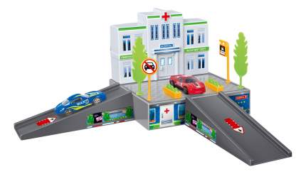 Парковка игрушечная Dave Toy Больница