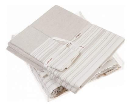 Набор полотенец Luxberry белый, бежевый