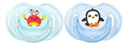 Набор детских пустышек Philips Avent Classic для мальчика 0-6 месяцев 2 шт.