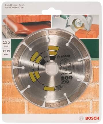 Алмазный диск Bosch УНИВЕРСАЛЬНЫЙ 125 мм DIY 2609256401