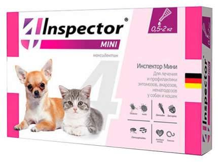 Средства от клещей для домашнего питомца Inspector Mini капли для собак и кошек 0,4 мл