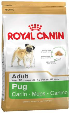 Сухой корм для собак ROYAL CANIN Pug Adult, птица, 1.5кг