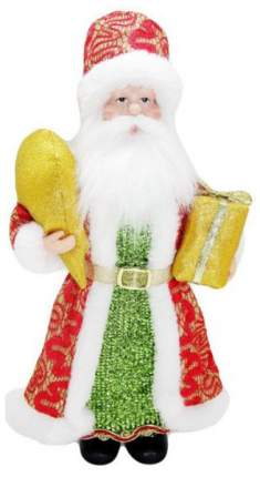 Кукла декоративная Новогодняя сказка Дед Мороз 28 см, 973024