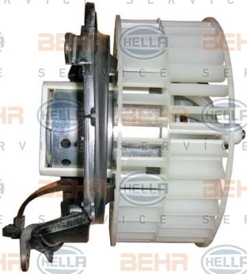 Двигатель моторчика печки Hella 8EW 009 159-211