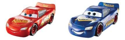 Машинка пластиковая Disney Cars МакКвин со сменными деталями