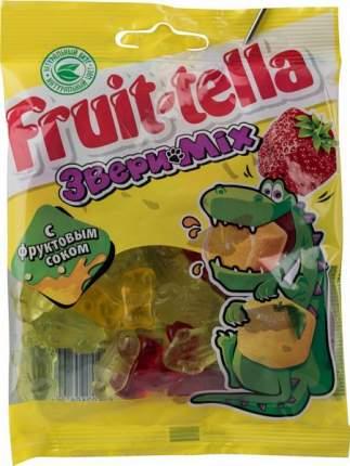Мармелад жевательный Fruit-tella звери mix с фруктовым соком 70 г