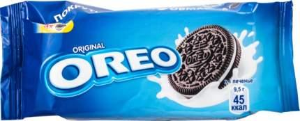 Печенье с какао и начинкой Oreo с ванильным вкусом 38 г