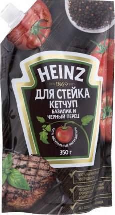 Кетчуп для стейка Heinz базилик и черный перец 350 г