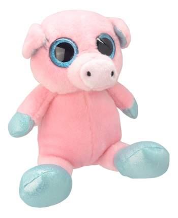 Мягкая игрушка Wild Planet Свинка 18 см розовый k7864