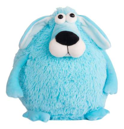 Мягкая игрушка Button Blue Собачка - кругляш синий, 27 см