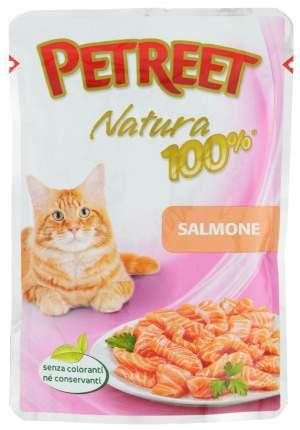 Влажный корм для кошек Petreet Natura, лосось, 24шт, 85г