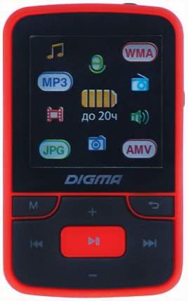 Плеер Digma T3 Черный/Красный